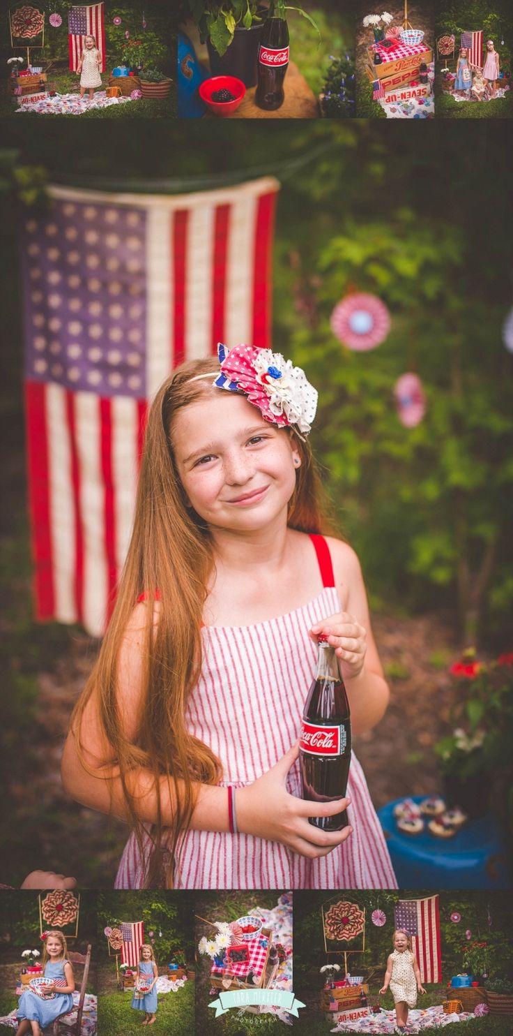 All American Mini Session, 4th of July Mini Session, Patriotic Mini Session, Flag Mini Session, Tara Merkler Photography in Central Florida