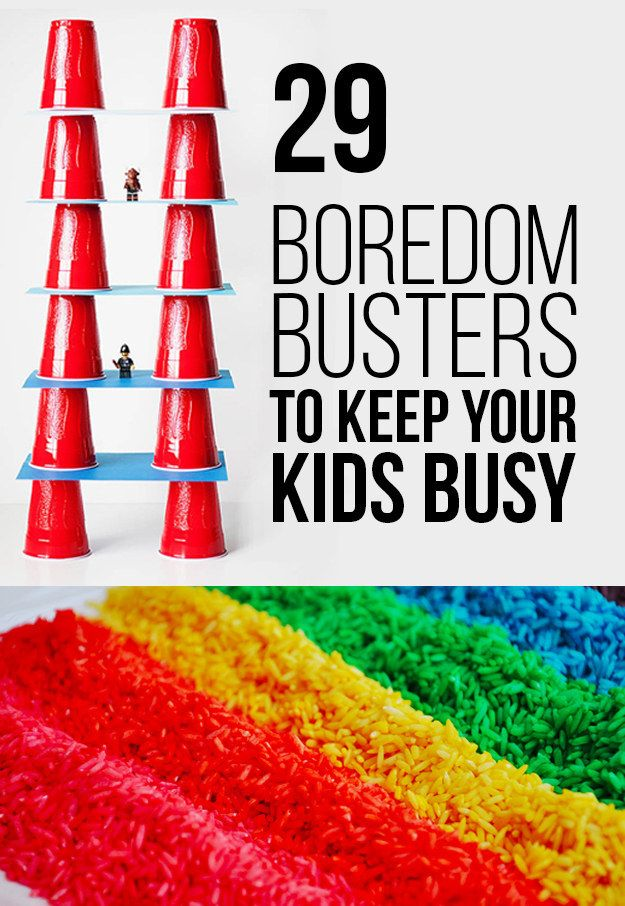 29 Boredom Busters To Keep Your Kids Busy