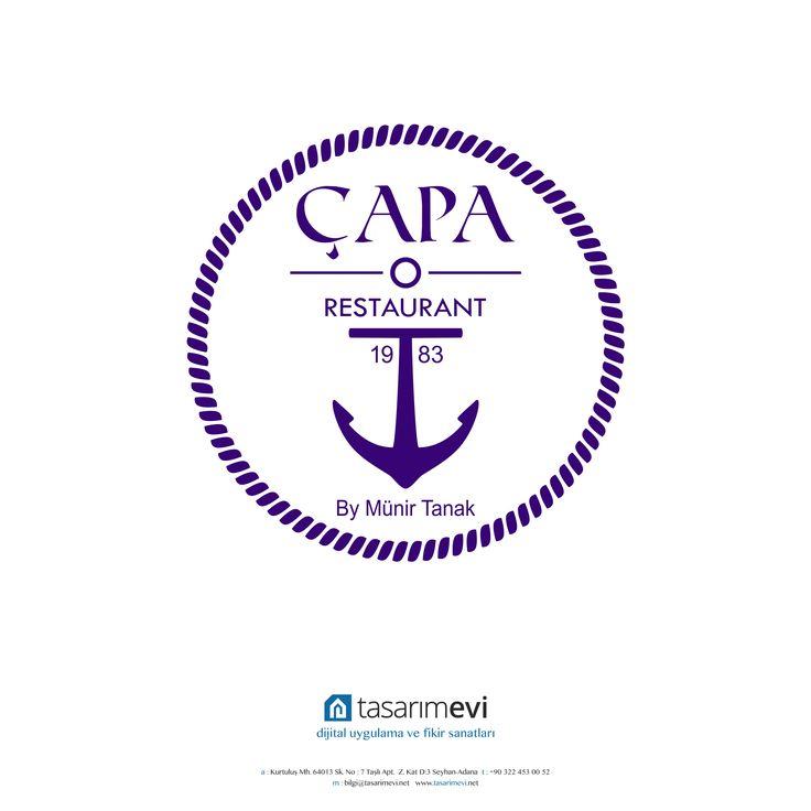 Çapa Balık Restaurant Logo Tasarımı