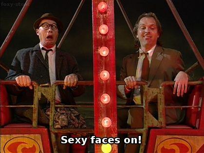 Rik Mayall & Ade Edmondson