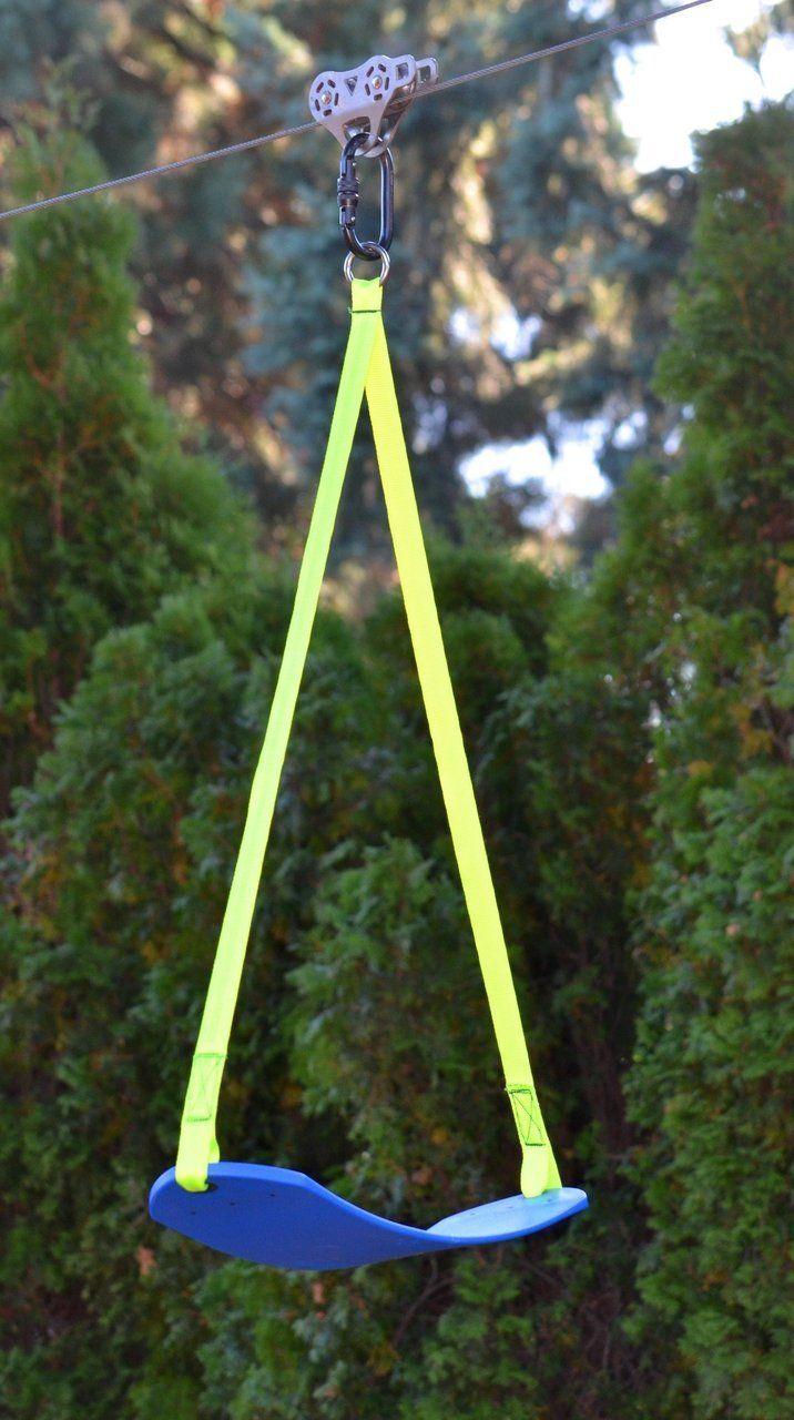 Zip Line Seat >> Pin By Amy Jackson On Jack Zip Line Backyard Zip Line Kits Kids