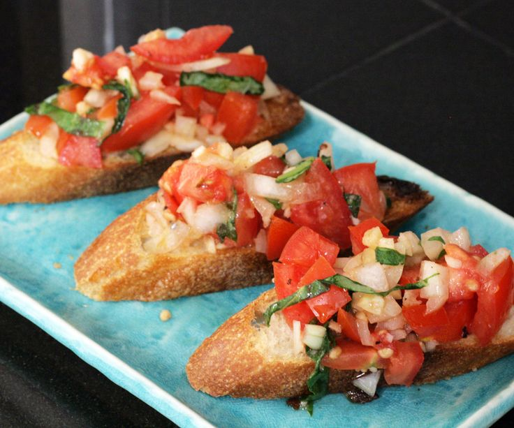 Bruschetta is a fresh, simple and delicious Italian appetizer that can be prepared in minutes and enjoyed any time of the year. In its simplest Italian form, bruschetta requires that ...