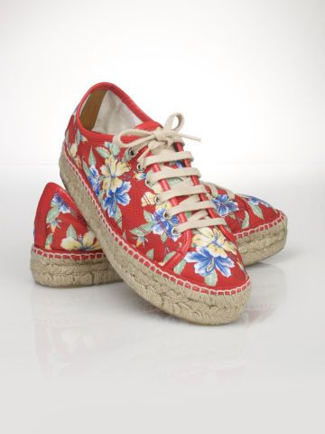 Polo Ralph Lauren Baskets hawaïennes en toile - Polo Ralph Lauren Chaussures - Ralph Lauren France