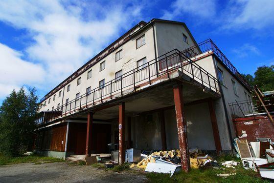 Övergivna platser - Tänninge Hotell