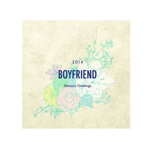 [2014 K-POP Season Greeting] Boy Friend (Calendar+Planner+Card+Sticker+Poster)