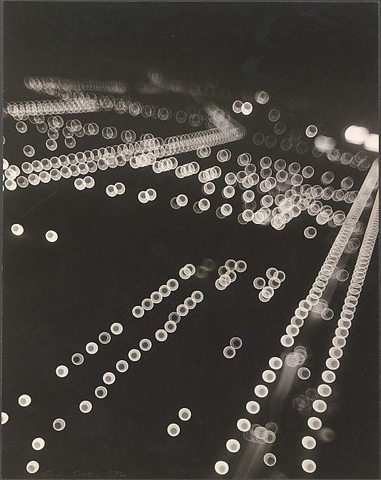 Impressions of Chicago - The Lights of Grant Park. 1932  Gordon H. Coster