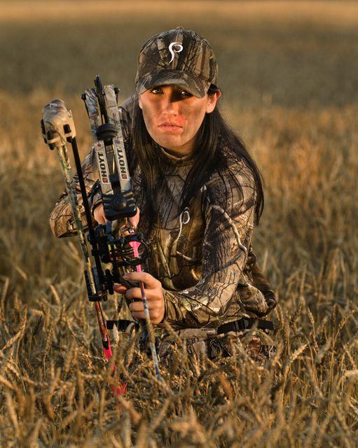 Bill Konway photography! Prois Women's Hunting Wear.