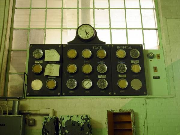 Master Meters - Hewitt State Hospital and Prison  © opacity.us