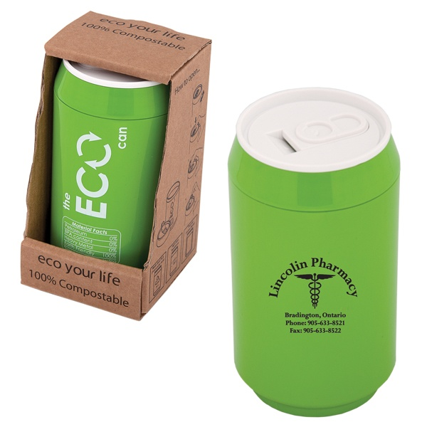 DA8288 - DOUBLE WALLED 280 ML. (9.5 OZ.) ECO CAN - Debco Your Solutions Provider