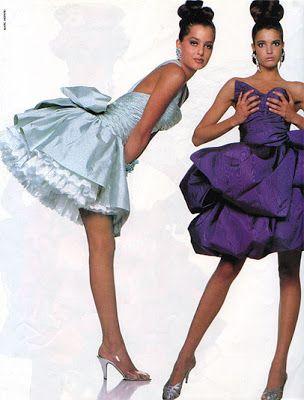Christian Lacroix dresses |The Opulent 80s