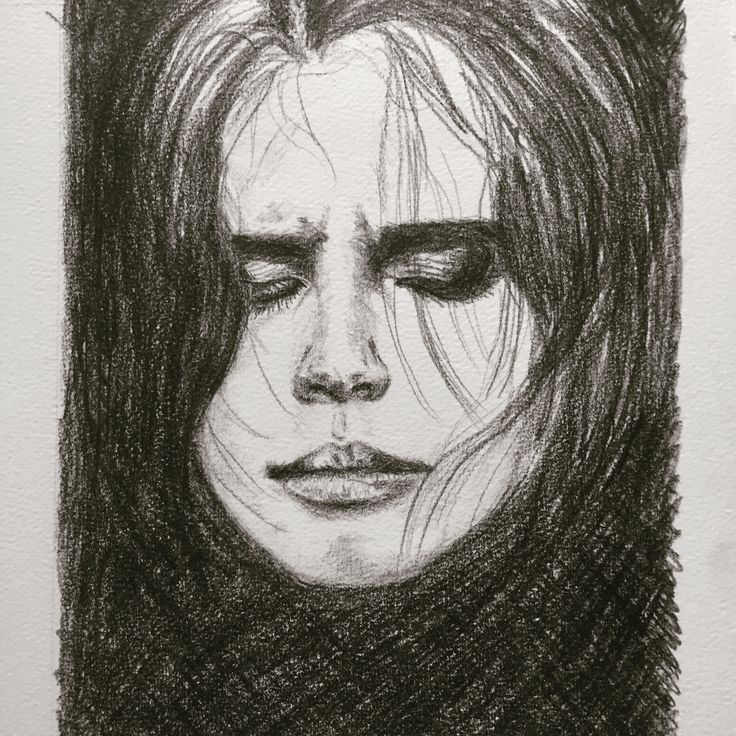Mourning (pencildrawing)
