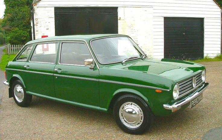 Austin Maxi 1750 HL Mine was a maroon coloured one. The back seats could fold down either way so the back could be either a Van, or a Bed.