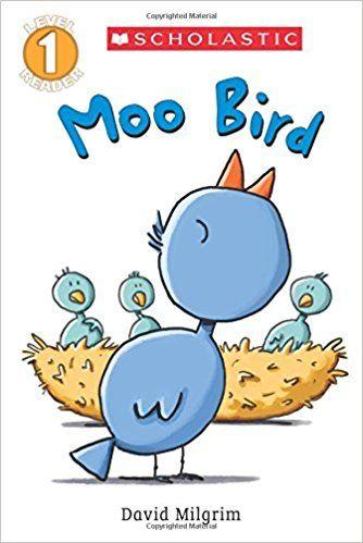 Amazon.com: Moo Bird (Scholastic Reader, Level 1) (9780545825023): David Milgrim: Books