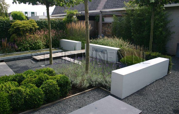 Afbeeldingsresultaat voor moderne tuin tuin tjalk pinterest tuin and design - Tuin met openlucht design ...