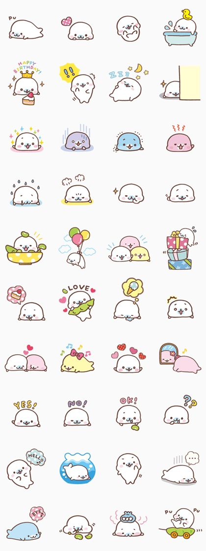 Mamegoma - LINE Sticker
