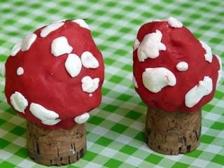 les petites têtes de lart: Valentine prépare des champignons