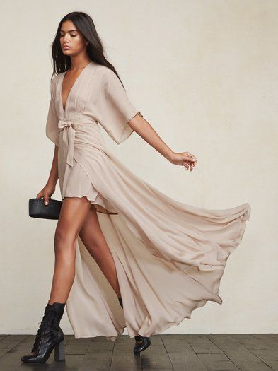 The Winslow Dress is what you would wear to a friend's wedding, but also what you would wear to look great at brunch. https://www.thereformation.com/products/winslow-dress-champagne?utm_source=pinterest&utm_medium=organic&utm_campaign=PinterestOwnedPins