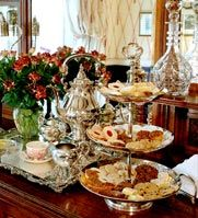 High Tea at Savannah GA - Ballastone Inn