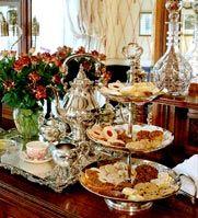 High Tea at Savannah GA - Ballastone Inn