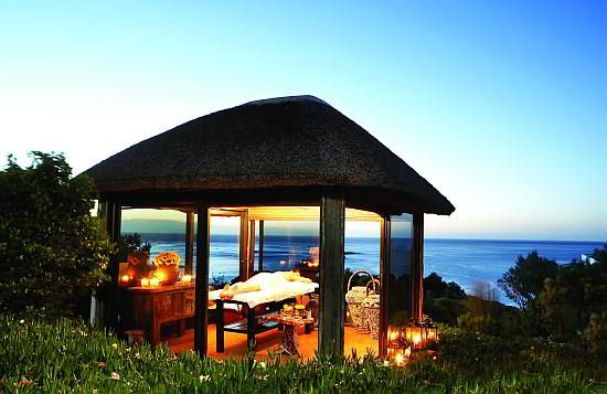 Have you ever had a massage during sunset? Give this a try at the 12 Apostles Hotel in Cape Town