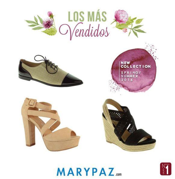 El top3 de los más vendidos de la semana en #MARYPAZ  ¿Con cuál de los 3 te quedas?  ¡14 tiendas en Canarias para probártelos todos!