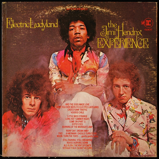 Jimi Hendrix Experience - Electric Ladyland (back cover)   Flickr - Photo Sharing!