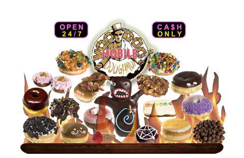 Voodoo Doughnut Mobile   Portland Oregon  Doughnts