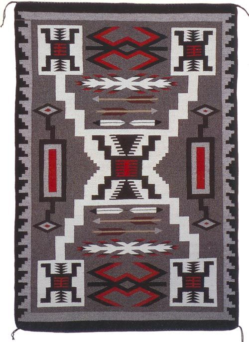 Storm  Navajo rugs - Tuba City Navajo rug