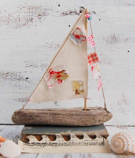 48 best images about driftwood sailboats on pinterest for Diy driftwood sailboat