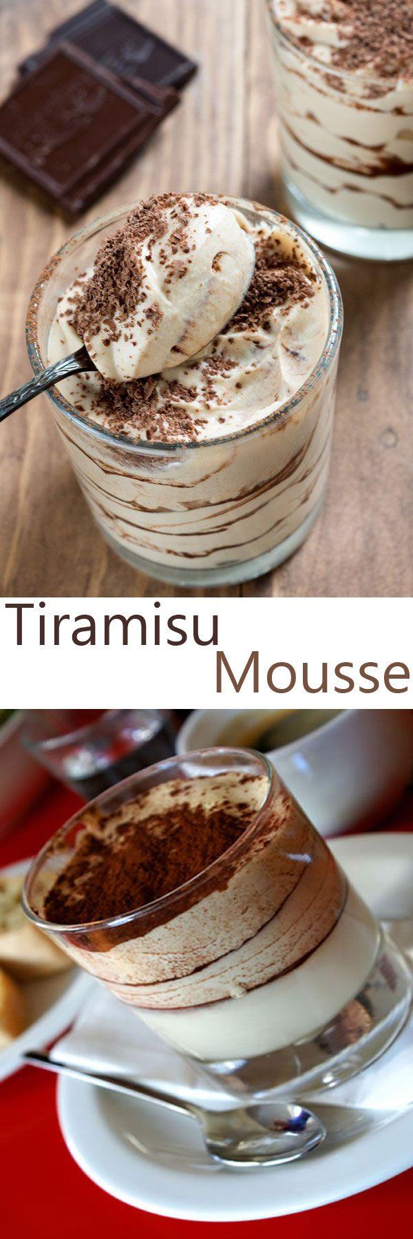♨ Tiramisu Mousse