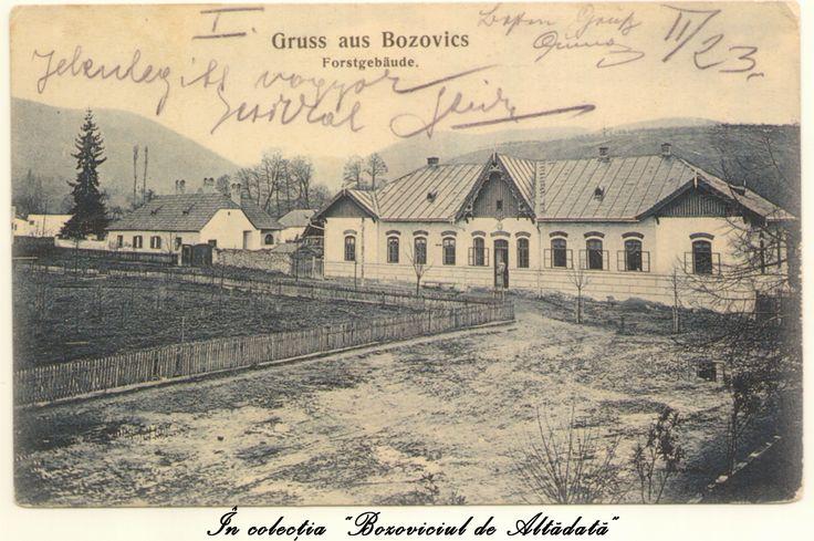 Motiv de lauda: casa padurarului, zice-se. Ilustrata cu pricina a circulat in 1908 la Timisoara. #descoperabozovici (Bozovici. old postcards. vintage postcards)