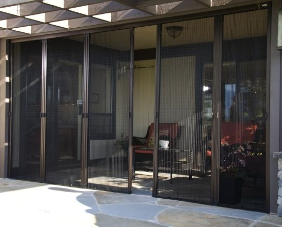 69 best images about phantom retractable screens on for Accordion retractable screen doors