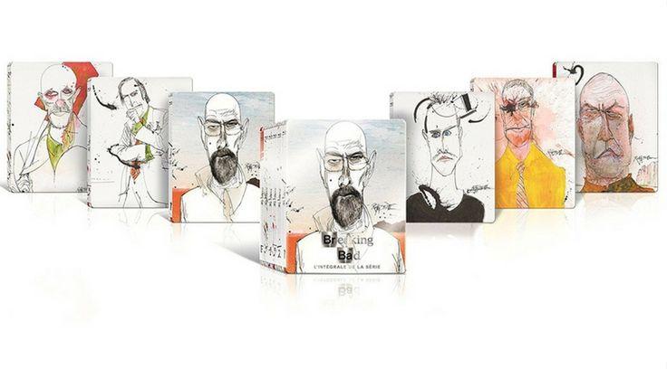 [Tagesangebot Import] Breaking Bad Steelbook Editionen (Blu-ray) für etwa 39