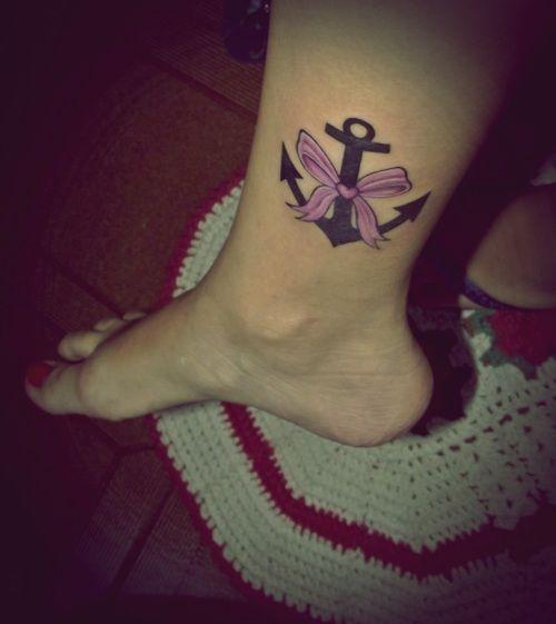 15 Cute Anchor Tattoos That Aren T Cliche: Best 25+ Feminine Anchor Tattoo Ideas On Pinterest