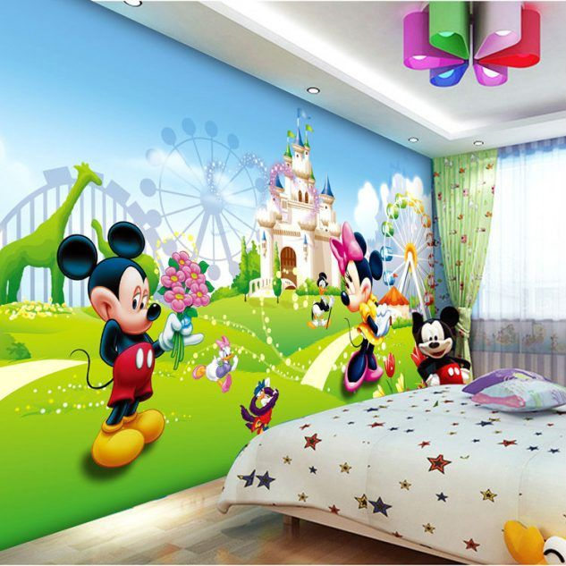 Use Childen S Room Wallpaper To Add Oodles Of Character: 17 Best Ideas About Cartoon Wallpaper On Pinterest