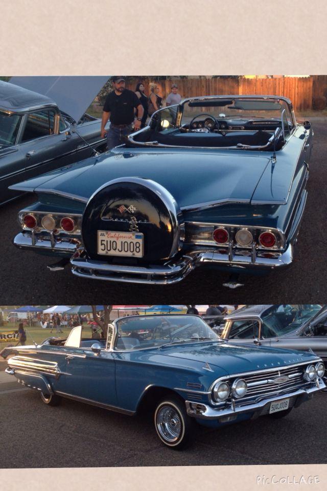 1960 Chevrolet Impala convertible.