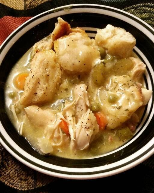 the best recipes of all time: Crockpot Chicken and Dumplings