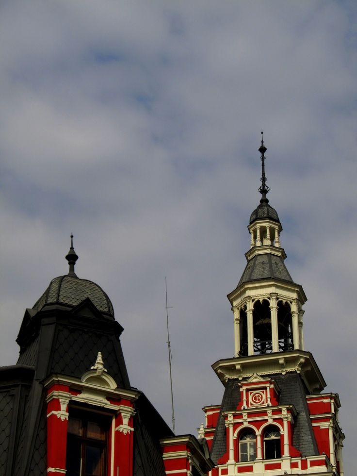 Por calle Puente, Santiago