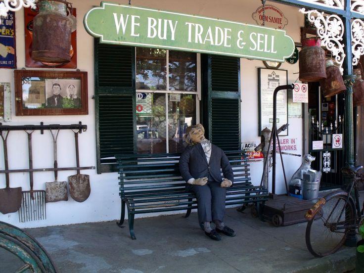 What an experience .... A must see in Stellenbosch Cape Town  - Oom Samie se winkel