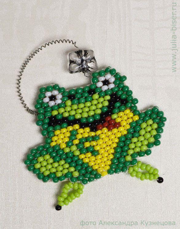 Pattern bijoux: Frog