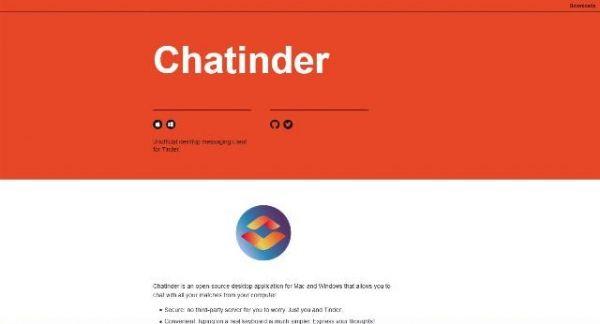Un client de messagerie JavaScript pour se connecter à Tinder - Chatinder  Tinder est la célèbre application mobile pour faire des rencontres et n'était disponible que pour votre GSM.  Grace à Chatinder, vous pouvez maintenant même faire des rencontres avec votre pc de bureau !  https://www.noemiconcept.com/index.php/en/departement-communication/news-departement-com/207808-webdesign-un-client-de-messagerie-javascript-pour-se-connecter-%C3%A0-tinder-chatinder.html
