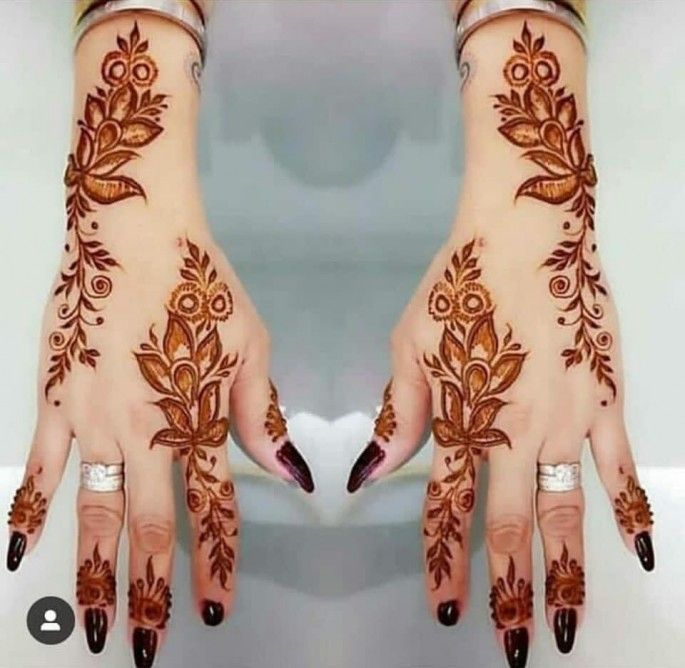 Top 51 Easy Simple And Latest Henna Arabic Mehndi Designs With Images Mehndi Designs For Fingers Mehndi Designs For Hands Henna Designs Hand Mehndi Designs For Hands Henna Designs Hand