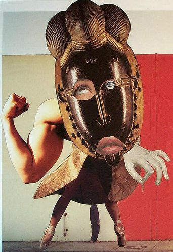 'Self-portrait' by German Dada artist Hannah Höch (1889-1978). Collage. via on art etc.: