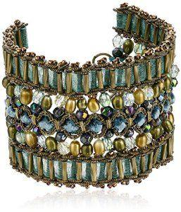 Beautifully Beaded Vintage Bracelet #krissylovesbling