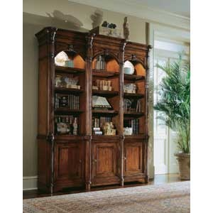 wynterhall bookcase with storage by hooker furniture fashion furniture bookcase 2 pc with hutch fresno madera clovis
