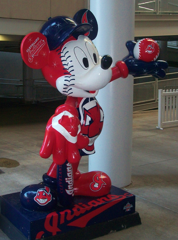 Cleveland Indians Mickey :)
