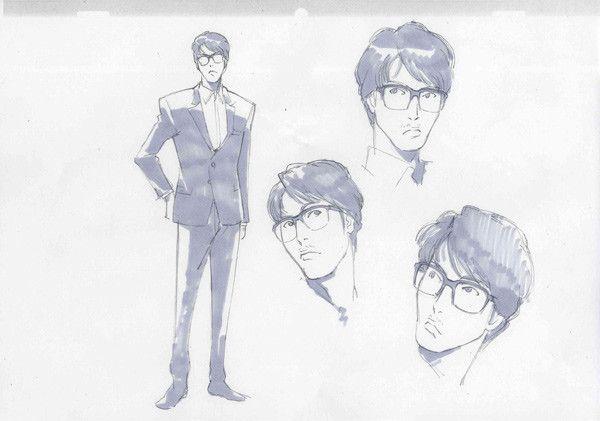 Rough sketch for Yasuyuki Okamura's pv Viva Namida; Space Dany Theme Song