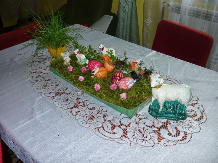 Diy - Easter decoration on the table