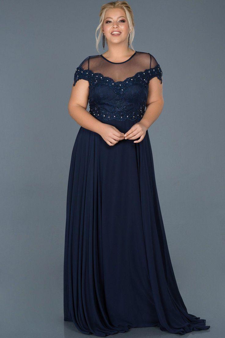 Büyük Beden Mezuniyet Elbisesi, Plus Size Prom Dress #büyükbeden, #mezuniyet…