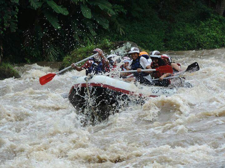 High flow @Elo river
